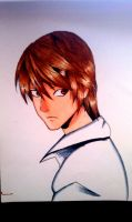 Light Yagami (clearer image) by Juventusleo