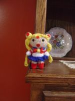 sailor moon amigurumi by akane0