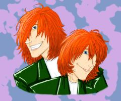 The Weasley Twins by muffinpoodle