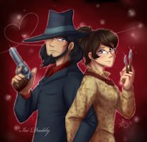 Mr and Mrs Jigen by Isi-Daddy