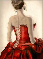 The Lady In Red by 88Hypnotist8