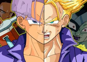 Anime Duality - Mirai/Future Trunks by OptimumBuster