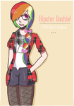 HIPSTER! Dashie! by Black-Jenny