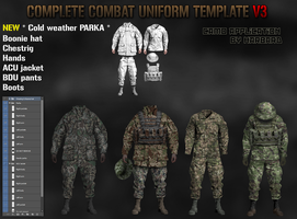 Combat uniform template V3 !!OUTDATED!! V4 link: by Harbard1