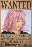Marluxia Wanted Poster by SoraKing