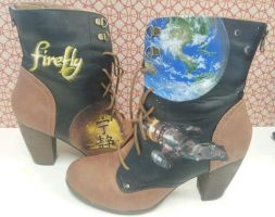 Completed Firefly Boots by GamerGirl84244
