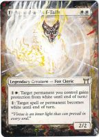 Magic Card Alteration: Eight-and-a-Half Tails by Ondal-the-Fool