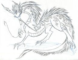 2012 Dragon - Commission art by winddragon24