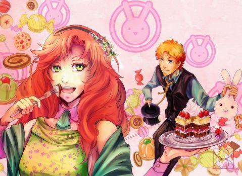 Somnia Contest: Sweets are better than Love :P by mattedodo-kun