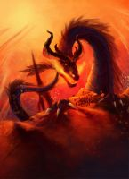 Infernal Dragon by HentaiNeko