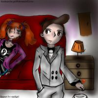 _Request_Gino and Lindsey by Bleedman-fan-Girl99