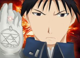 Roy Mustang Colored by Thatguyuare