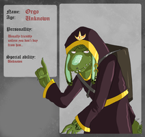 ORP - Orgo the potion seller by Natomi