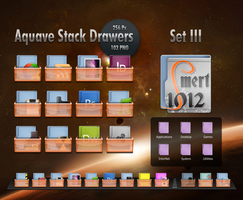 Aquave Stack Drawers Set III by smert1012
