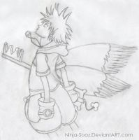 Sora - Kingdom Hearts by Ninja-Sooz