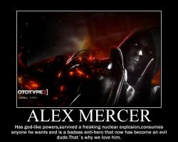 Alex Mercer Motivational by televideoDMB