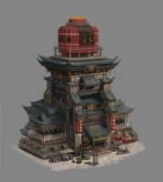 A building design for game by peigong