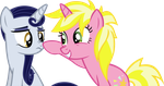 Sisterly Nose Boop by IronM17