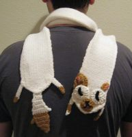 Adventure Time Cake the Cat Scarf by Tirrivee