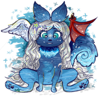Eanilla - Neopets request by astro-cosmos