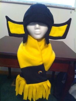Sunstreaker Hat and Scarf by PlanetPlush