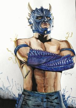 Drago Luchador by offearth
