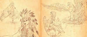 Hybrid Races -HARPIES- by spiritualfeel