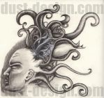 Tentacle head by dust-design