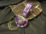 Purple Victorian Pocket Watch Holster by StudioGruhnj