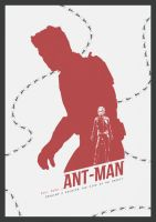 Pick on someone your own size - Antman by lewisdowsett