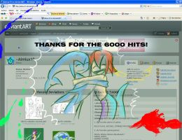 6000 hits by Almiux19