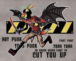 Cut you up by kidcandy