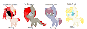 Requested Customs~ by HopeForTheFuture13