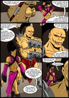 Mortal Kombat Issue #3 Page 4 by MarcusSmiter