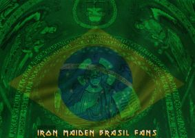 Iron Maiden Brasil by rzrdesign