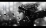 winter nights | digital art by omnia2012