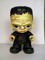 Frankenstein's Monster Munny 2 by Flame-Ivy
