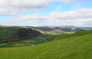 Poppystock - valley on Welsh borders by popicok