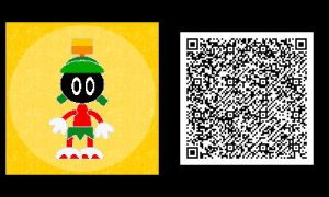 Freakyforms: Marvin the Martian QR Code by nintendolover2010