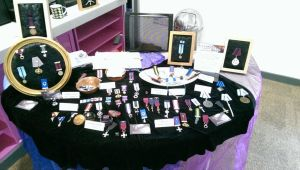 Steamwork Medals Stall at The Nationals. by SteamworkMedals