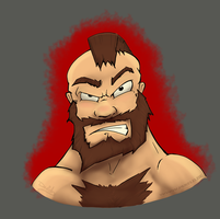 Fan art: Zangief by Devid-D