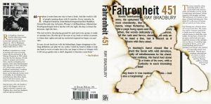 Fahrenheit 451 Book Jacket by vicki2314
