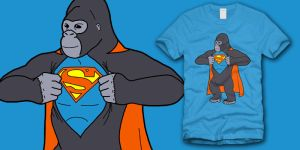 Gorilla Costume by ShedSimas