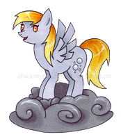 Derpy Cloud by shadow-wolf051