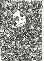 Pen drawing by Ruineth