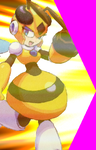 HoneyWoman MVC2 hyper portrait by legorulez49