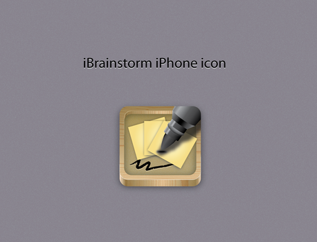 ibrainstorm app iPhone icon by usk