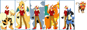 Pokemon Series: Merediths Team by Colleen15