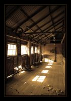 Shearing Shed by DPasschier