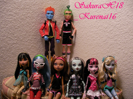 Monster High Wave 1 Complete by SakuraH18